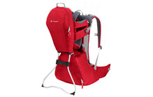 Vaude Wallaby porte bebe rouge